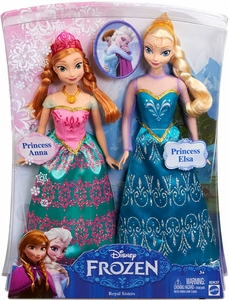 Disney Frozen Doll 2-Pack Royal Sisters [Anna & Elsa] New!