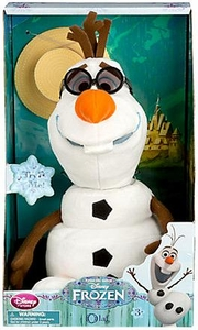 Disney Frozen Exclusive 10.5 Inch Singing Plush Olaf