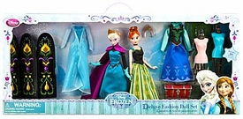 Disney Frozen Exclusive 11 Inch Deluxe Fashion Doll Set [Anna & Elsa]