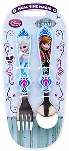 Disney Frozen Exclusive Anna & Elsa Flatware Set [Fork & Spoon]