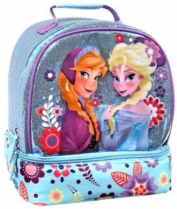 Disney Frozen Exclusive Anna & Elsa Lunch Box Tote Bag [Blue]