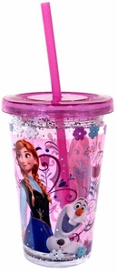 Disney Frozen Exclusive Anna & Olaf Tumbler with Straw