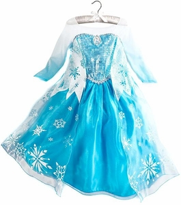Disney Frozen EXCLUSIVE Costume Dress Elsa [Size 7/8]