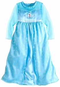 Disney Frozen Exclusive Elsa Nightgown for Girls [Size 7/8]