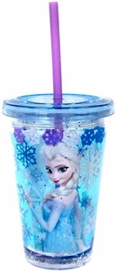 Disney Frozen Exclusive Elsa Tumbler with Straw