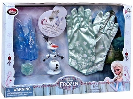 Disney Frozen Exclusive Elsa Winter Gloves Set New!
