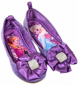 Disney Frozen Exclusive Purple Anna & Elsa Shoes [US Size 9]