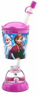 Disney Frozen Exclusive Snowglobe Tumbler with Straw
