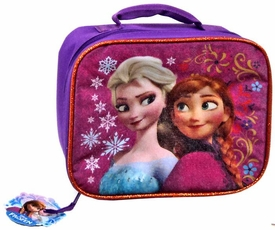 Disney Frozen Insulated Lunch Tote Anna & Elsa [Flowers & Snowflakes]