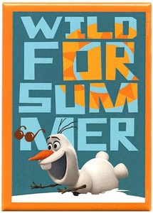 Disney Frozen Magnet Olaf Wild for Summer