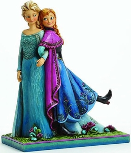 Disney Frozen Movie Traditions Statue Anna & Elsa Pre-Order ships October