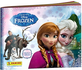Disney Frozen Panini Sticker Album New!