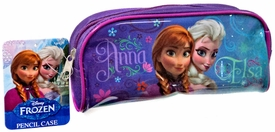 Disney Frozen Pencil Case Anna & Elsa New!