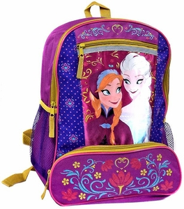 Disney Frozen Pink Anna & Elsa Backpack