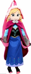 Disney Frozen 14 Inch Plush Backpack Anna New!