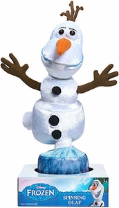 Disney Frozen Talking Plush Spinning Olaf