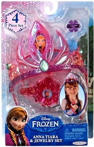 Disney Frozen Tiara & Jewelry Set Anna