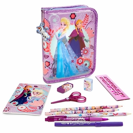 Disney Frozen Zip-Up Stationery Kit