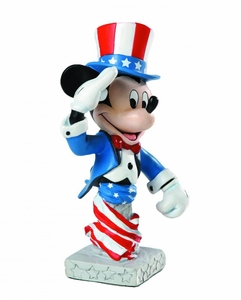 Disney Grand Jester Studios Mini-Bust Patriotic Mickey Pre-Order ships September