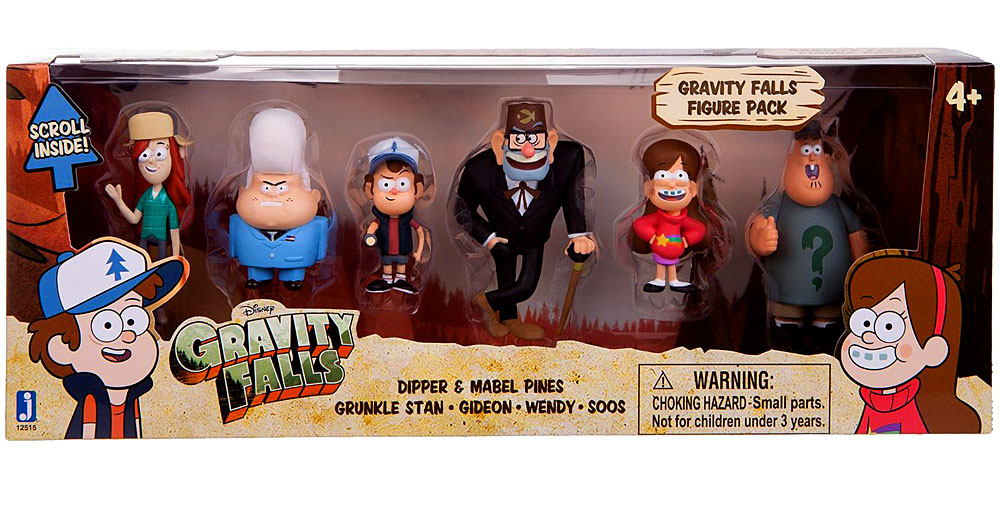 Gravity Falls Mini Figures Gravity Falls Mini Figure