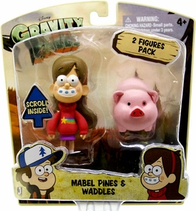 Disney Gravity Falls 3 Inch Action Figure 2-Pack Mabel Pines & Waddles Pre-Order ships April