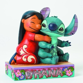 Disney Lilo & Stitch Traditions Statue Ohana Pre-Order ships October