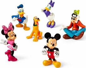 Disney Mickey Mouse Clubhouse Exclusive 6 Piece Mini PVC Figure Collector Set