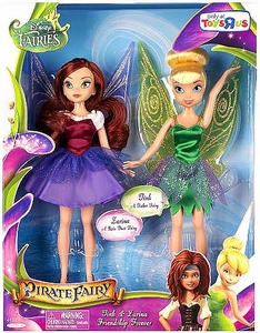 Disney Pirate Fairy Exclusive 9 Inch Doll 2-Pack Tink & Zarina Friendship Forever
