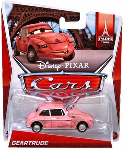 Disney / Pixar CARS MAINLINE 1:55 Die Cast Car Geartrude [Paris Tour 5/7]