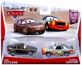 Disney / Pixar CARS MAINLINE 1:55 Die Cast Car World of Cars Bob Cutlass & Darrell Cartrip [RSN 2/8 & 3/8]