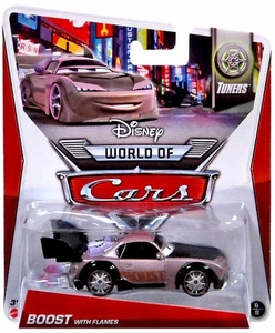 Disney / Pixar CARS MAINLINE 1:55 Die Cast Car World of Cars Boost with Flames [Tuners 6/8]