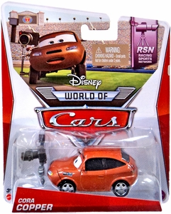 Disney / Pixar CARS MAINLINE 1:55 Die Cast Car World of Cars Cora Copper [RSN 6/8]
