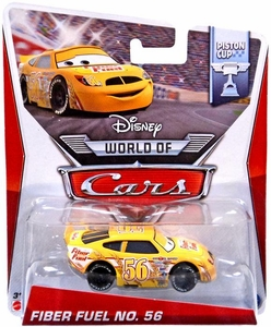 Disney / Pixar CARS MAINLINE 1:55 Die Cast Car World of Cars Fiber Fuel No. 56 [Piston Cup 13/16]