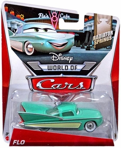 Disney / Pixar CARS MAINLINE 1:55 Die Cast Car World of Cars Flo [Radiator Springs 12/15]