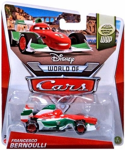 Disney / Pixar CARS MAINLINE 1:55 Die Cast Car World of Cars Francesco Bernoulli [WGP 3/15]