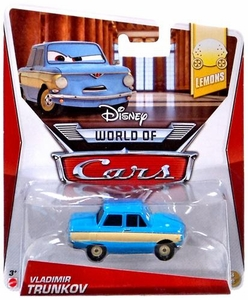 Disney / Pixar CARS MAINLINE 1:55 Die Cast Car World of Cars Vladimir Trunkov [Lemons 3/8]