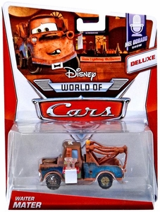 Disney / Pixar CARS MAINLINE 1:55 Die Cast Car World of Cars Waiter Mater [Mel Dorado Show 4/9]