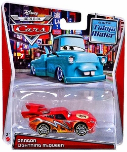 Disney / Pixar CARS MAINLINE Exclusive 1:55 Die Cast Car World of Cars Dragon Lightning McQueen [Tokyo Mater]