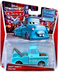 Disney / Pixar CARS MAINLINE Exclusive 1:55 Die Cast Car World of Cars Drift Party Mater [Tokyo Mater]