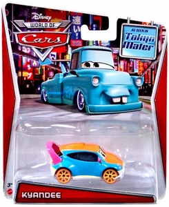 Disney / Pixar CARS MAINLINE Exclusive 1:55 Die Cast Car World Of Cars Kyandee [Tokyo Mater]