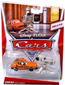 Disney / Pixar CARS Movie 1:55 Die Cast Car MAINLINE Deluxe Grem with Camera [Lemons 6/9]