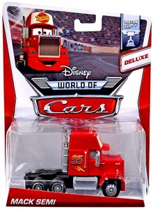 Disney / Pixar CARS Movie 1:55 Die Cast Car MAINLINE World of Cars DELUXE Mack Semi [Piston Cup 9/16]