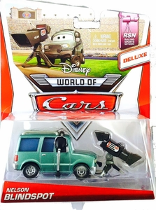 Disney / Pixar CARS Movie 1:55 Die Cast Car MAINLINE World of Cars DELUXE Nelson Blindspot [RSN 5/8]