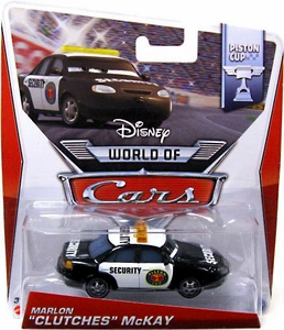Disney / Pixar CARS Movie 1:55 Die Cast Car MAINLINE World of Cars Marlon 'Clutches' McKay [Piston Cup 3/16]