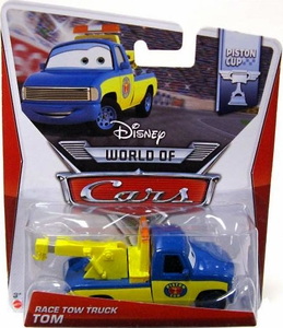 Disney / Pixar CARS Movie 1:55 Die Cast Car MAINLINE World of Cars Race Tow Truck Tom [Piston Cup 4/16]