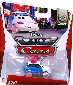 Disney / Pixar CARS Movie 1:55 Die Cast Car Mainline World of Cars Suki  [Tuners 2/8]