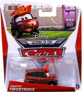 Disney / Pixar CARS Movie 1:55 Die Cast Car Mainline World of Cars Timothy Twostroke [RSN #1/8]