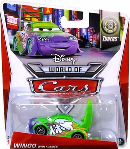Disney / Pixar CARS Movie 1:55 Die Cast Car Mainline World of Cars Wingo with Flames  [Tuners 1/8]