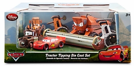 Disney / Pixar CARS Movie Exclusive 6-Piece 1:48 Scale Die Cast Set Tractor Tipping [Frank the Combine!] Pre-Order ships January