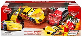 Disney / Pixar CARS Movie Exclusive Racer Launching Playset [Jeff Gorvette & Memo Rojas]